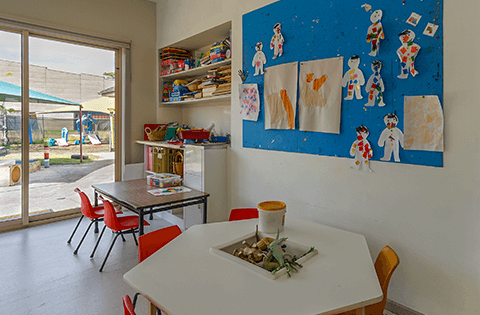 Indoors at Keysborough Freedom Club Childcare Center