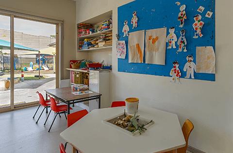 Indoors at Keysborough Freedom Club Childcare Center