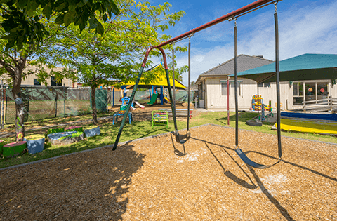 Outdoors at Keysborough Freedom Club Childcare Center